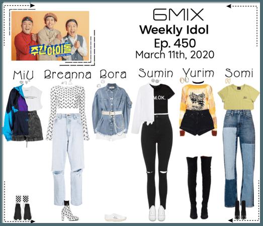 《6mix》Weekly Idol