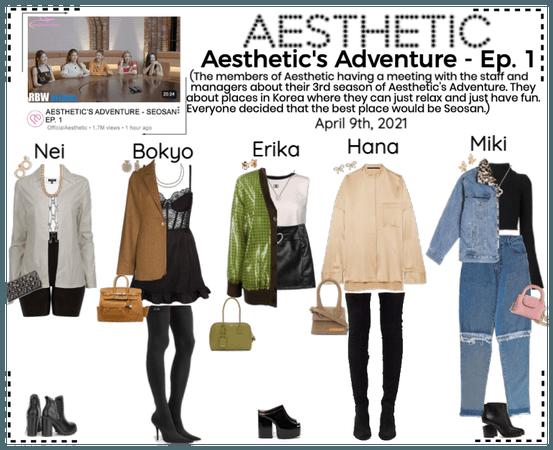 AESTHETIC (미적) [AESTHETIC'S ADVENTURE - Seosan] Ep. 1