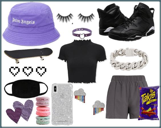 chilled purple