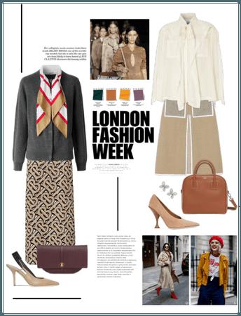 London Fashion Week: Burberry