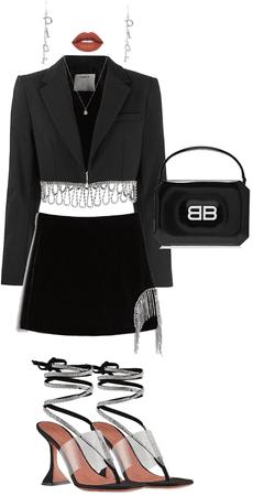 diamond&black classy