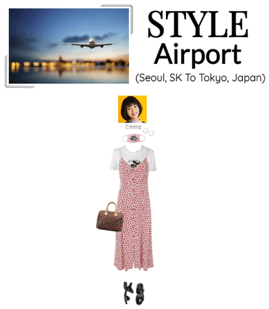 [STYLE] Emma At The Airport (Heading To Tokyo)