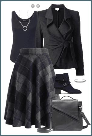 navy & gray