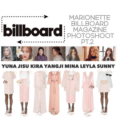 {MARIONETTE} Billboard Magazine Pt.2
