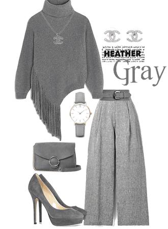 Mono-gray Heather