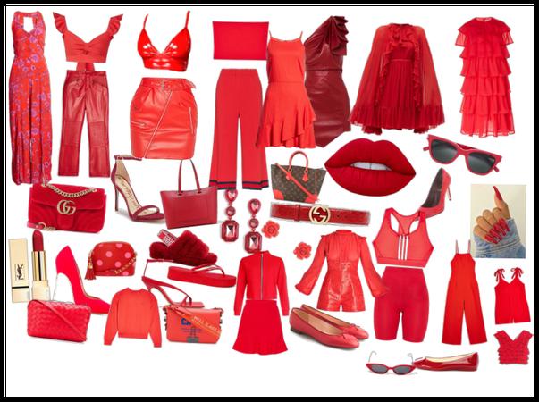 Red x ♥️💋❤️💖