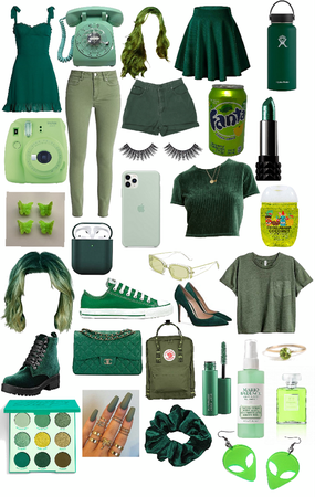 GREEN THINGS