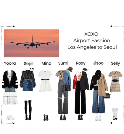 XOXO Airport Fashion