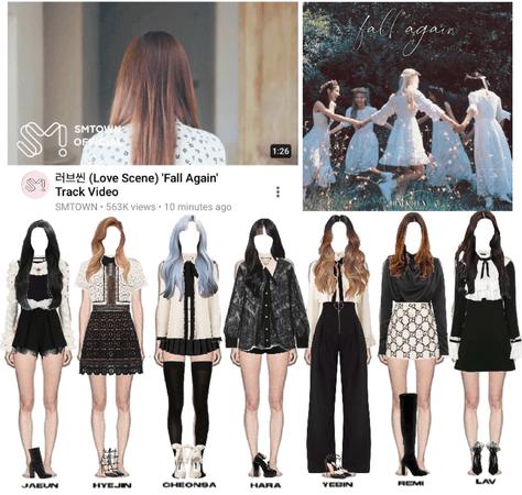 LOVE SCENE | THE FIRST ALBUM 'MIDNIGHT' | TRACK VIDEO #10 'FALL AGAIN'