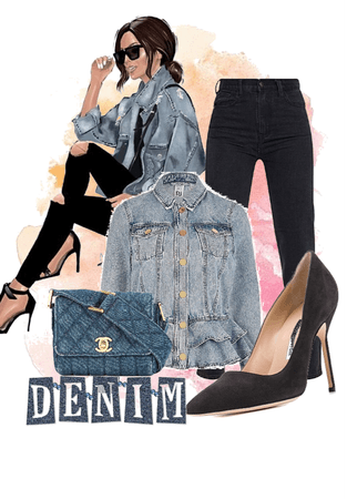 Nat.Denim Outfit