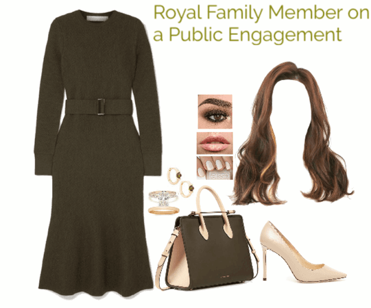 Royal Family Member on a Public Engagement