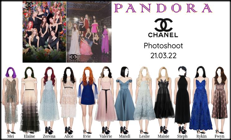 PANDORA x Chanel Photoshoot