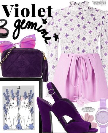 violet gemini