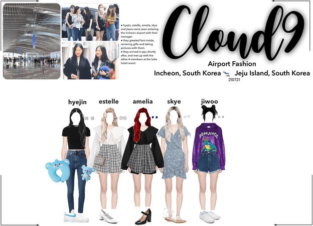 Cloud9 (구름아홉) | Airport Fashion; Incheon, South Korea 🛬 Jeju Island, South Korea