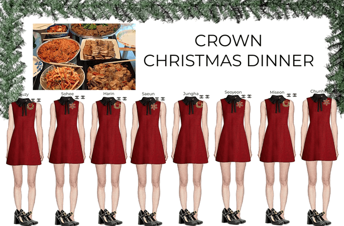 CROWN CHRISTMAS DINNER