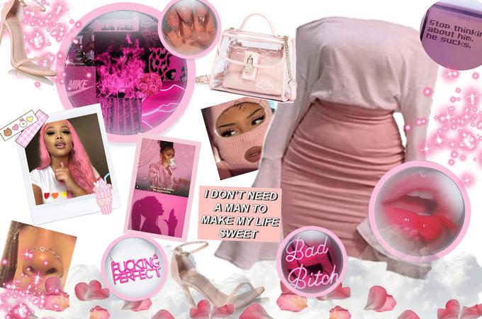 pink baddie 😈🙄💗💅🏼