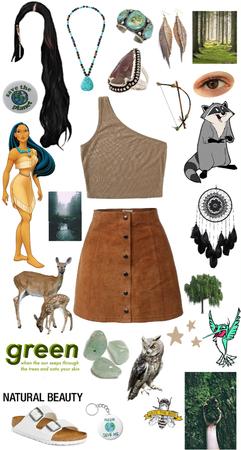 Princess style: Pocahontas