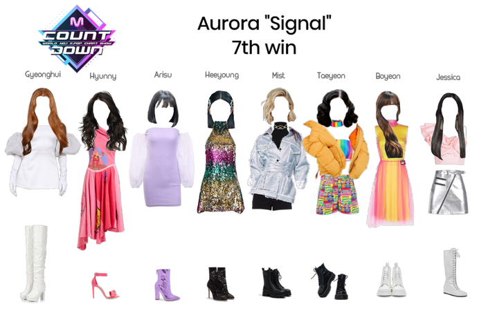 "Aurora ""Signal"" 7th Win"