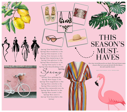 summer essentials from flamingos to cocktails