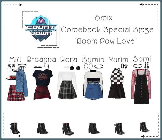 《6mix》M Countdown Comeback Special