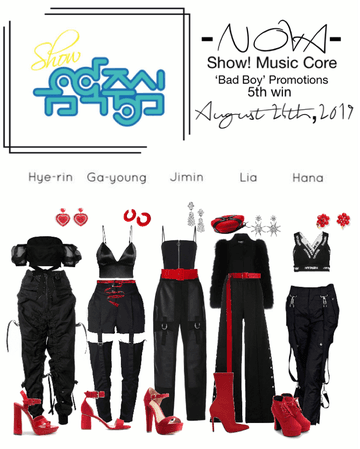 -NOVA- Bad Boy Show! Music Core