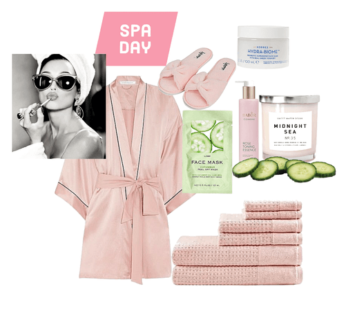 Spa Day Outfit