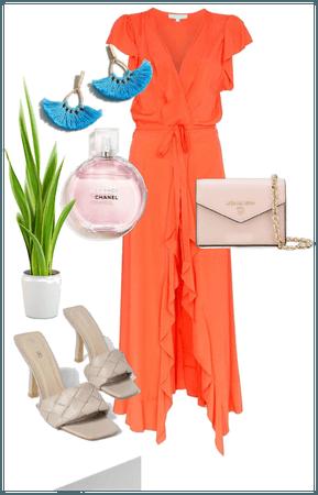 Pop color dress