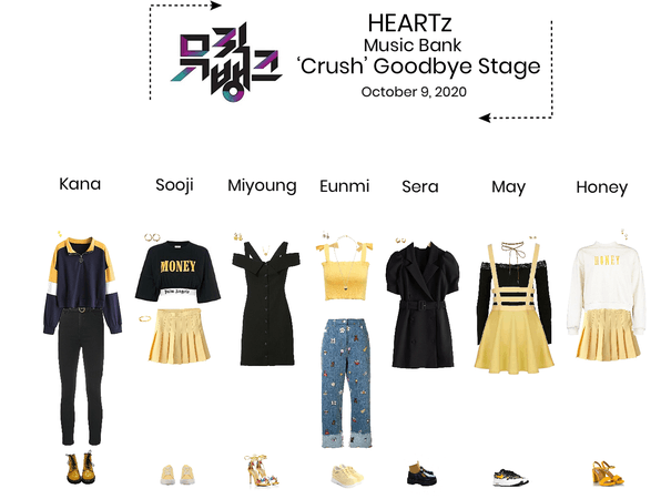 HEARTz//'Crush' Music Bank Goodbye Stage