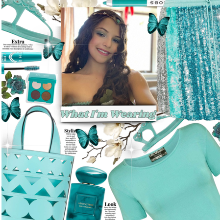 What I'M Wearing| Teal dream!