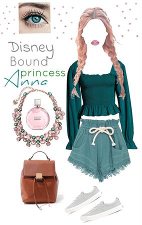 Disney bound Anna