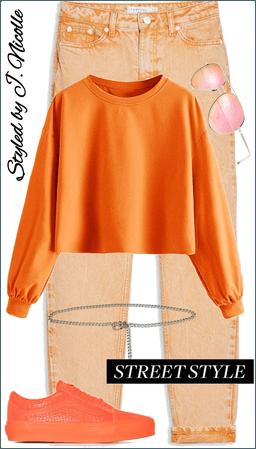 Orange You Monchromatic