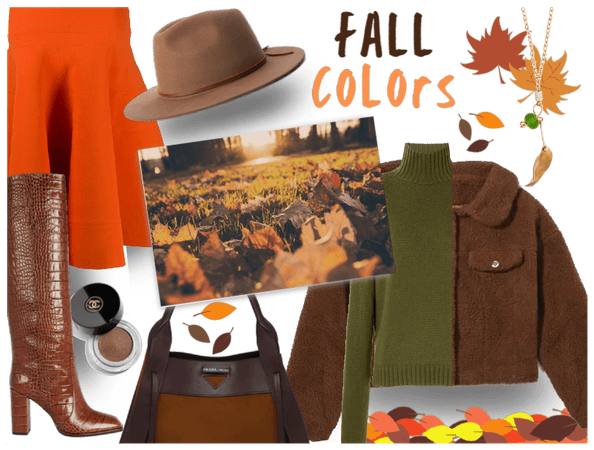Fall colors collab with @fashion_trends