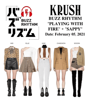 "KRUSH BUZZ RHYTHM ""Playing With Fire "" + ""Sappy"""