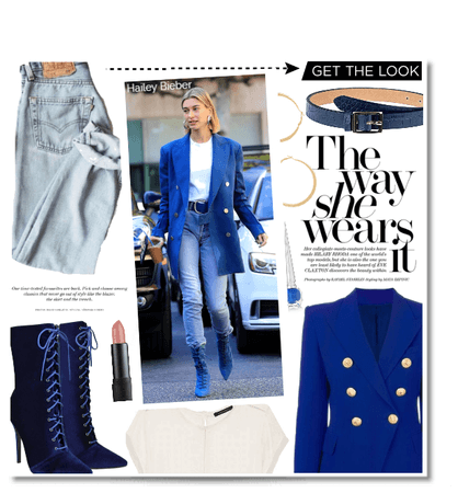 Hailey Bieber - Get the look