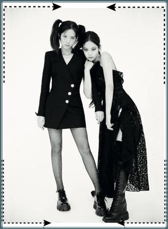 Yiyeon and somi for jalouse china magazine.