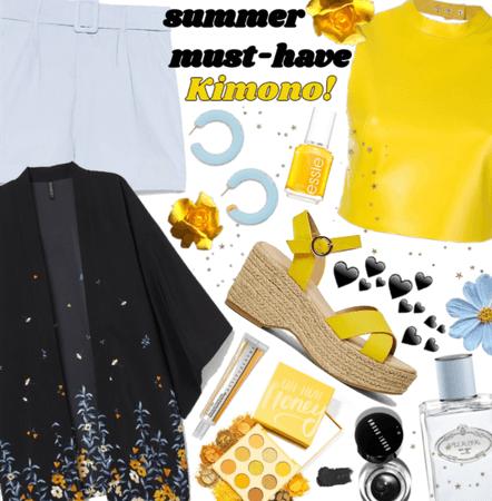 Summer must have: kimono