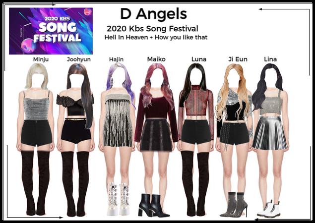 D Angels 2020 KBS song festival Performance