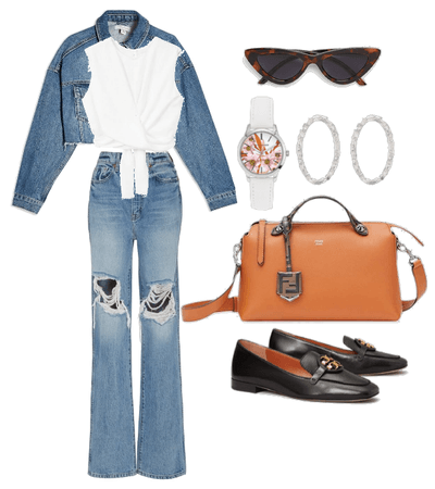 never go wrong with denim