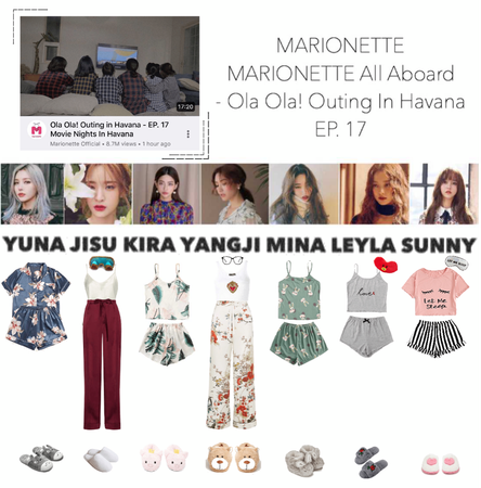 MARIONETTE (마리오네트) [MARIONETTE ALL ABOARD] Ola Ola! Outing in Havana - EP. 17