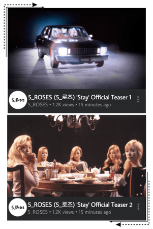 5ROSES 'Stay Official Teasers 1 & 2