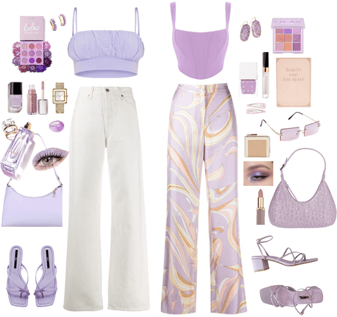 lilac dreams 💅🏻🍬🔮🎀💜