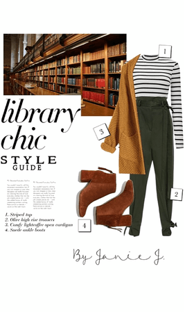 library chic