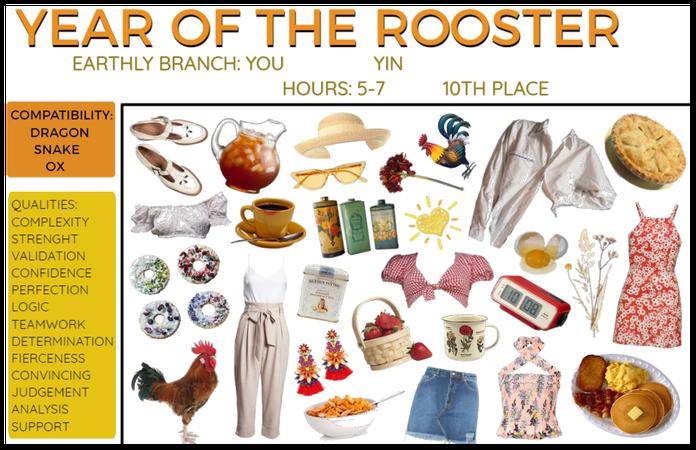 Lunar Zodiac: Rooster
