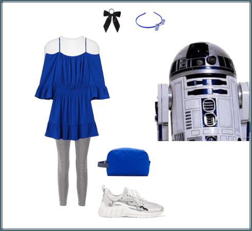 R2-D2 DisneyBound !