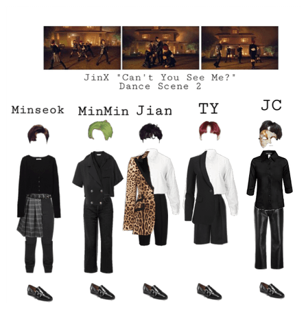 JinX 'Can't You See Me?' Dance Scene #2