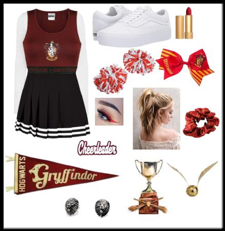 If hogwarts had cheerleaders (gryffindor)