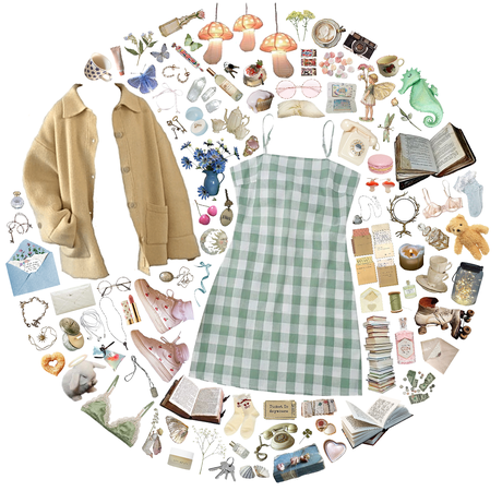 summer dresses and winter coats