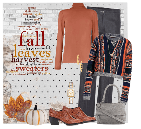 FALL: Leaves, Harvest, Clothes