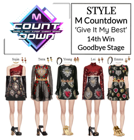 STYLE M Countdown 'Give It My Best' Goodbye Stage