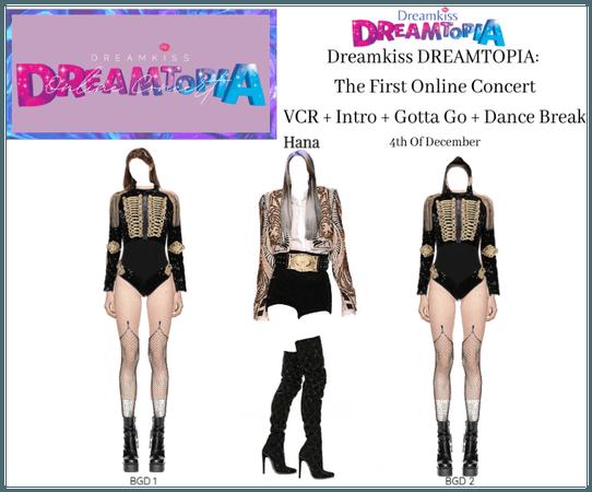 DREAMKISS (드림키스) Hana DREAMTOPIA Solo Stage 201204